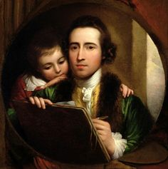 The Artist And His Son Raphael, Benjamin West (1738-1820)