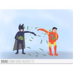 Batman vs. Ironman