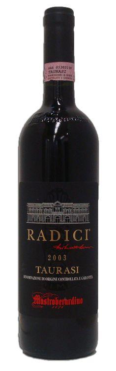 Winery: Mastroberardino 'Radici' Varietal: 100% Aglianico Region: Taurasi, Italy Vintage: 2003