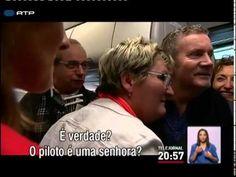 Mulheres conquistam lugar ao comando de aviões comerciais