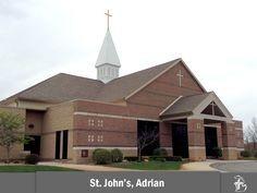 St. John's Lutheran Church in Adrian, Michigan