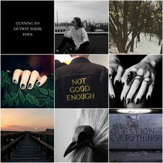 Slytherin/Chaotic Neutral/Punk Aesthetic for @gingergirl1234laxlaxooh