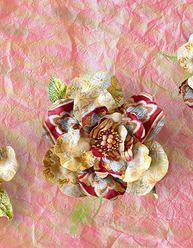 Amazing Floral Arrangements Made of Old Kimonos Flower Paintings, Paper Flowers, Floral Arrangements, Diys, Purpose, Tutorials, Diy Crafts, Amazing, Creative