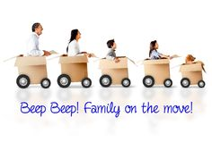 We want your kiddos to embrace moving. Here's some quick tips to make the move fun: 1.) Take them for a visit to their new school 2.) Make a packing game 3.) Sing a song when packing 4.) Use fun stickers to let them label their boxes 5.) Reassure them that Mr. Mover is going to move all their toys safely to their new home