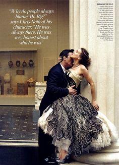 Sarah Jessica Parker and Chris Noth Vogue Editorial