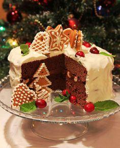 Шоколадно-имбирный торт пошаговый рецепт с фотографиями