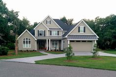 really, really like this one...but o how i wish the garage were detached...House Plan 17-2160