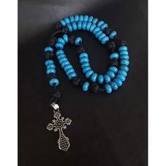 Oceanus Military 550 Paracord Catholic Rosary Paracord Rosary, 550 Paracord, Turquoise Gemstone, Turquoise Necklace, Losing Faith, Rosary Catholic, Navy Seals, Ancient Greece, Never Give Up