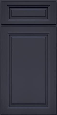 Victoria Maple(PKM4) Square Midnight W/ Onyx Glaze - KraftMaid