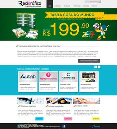 Criação de layout e finalização de site em WordPress. #wordpress #photoshop #css #php #jquery #javascrit #design #web #site