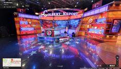 Google Maps Adds a 360-Degree Virtual Tour Inside 'The Colbert Report' Studio