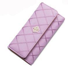2c60dd154 Luxury Women Leather Wallets. Billetera ContinentalCarteras Monederos