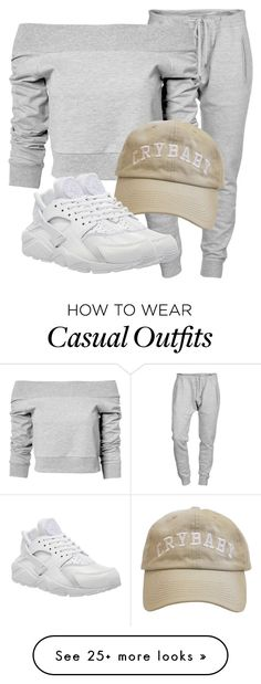 """Untitled #2974"" by xirix on Polyvore featuring Dsquared2, Estradeur and NIKE"