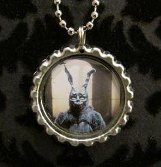 Donnie Darko Bottle Cap Necklace or Keychain by AdAstraEmporium, $6.00