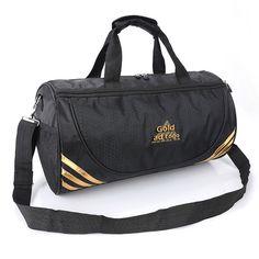 New Nylon Outdoor Male Female Sport Bag Raveling Bag Waterproof Hiking Handbag Fitness Shoulder Gym Bag Training Yoga Duffel Bag