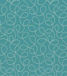 8''x8'' Home Decor Fabric Swatch Crypton-Loopy Blue, , hi-res
