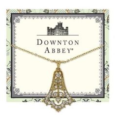 "#Downton #Abbey® #Gold Tone #Pave #White #Diamond Look #Crystal #Bell #Drop #Necklace - #1928 #Jewelry:Amazon.co.uk: #Jewellery - #1928Jewelry #Dangling #Stone - #Adjustable 16""-19"" Long - #unique #design! - #Decadent #Beautiful #Wedding #Bridal or #prom #Gift #pretty #princess #Halloween #costume #night #beautiful #royalty #elegant #formal #women's #DowntonAbbey #style - #NickelFree and #MadeintheUSA in #California!"