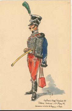 SOLDIERS- Boisselier: Chasseurs à Cheval Volontaires des Calabres... 1807, by H. Boisselier.