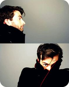 David Tennant in black coat from 'Radio Times' Magazine 9-15 October 2010 ......*dies*