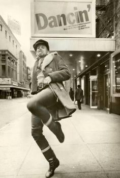 Bob Fosse was such a humble man and had no idea how brilliant he really was.