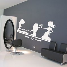 Wall decal decor decals art hair hairdryer by DecorWallDecals, $28.99