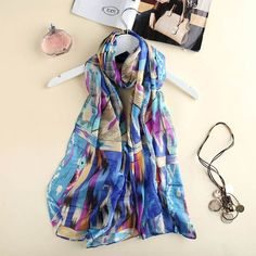 Hijab from India scarf luxury brand chinese women scarves soft chiffon blanket pashmina shawls scarves for women foulard femme