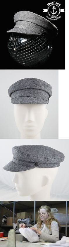 375adcc69b425 Mens Hats 163619  Greek Fisherman S Hat Pharrell Cap Grey 100% Greek Wool  Tailor Made Since 1960 -  BUY IT NOW ONLY   55 on eBay!