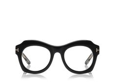 c3c5ee91bdd9 SOFT ROUNDED BUTTERFLY ACETATE SHAPE WITH METAL  T  TEMPLE DECORATION. Tom  Ford Eyewear