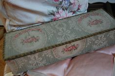 Lovely fabric box by Maison Douce, via Flickr
