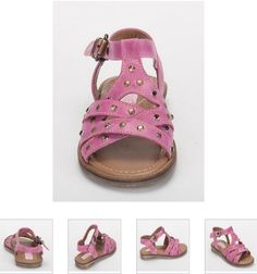 #Children's #Cherie #Sandals - Pink & #Studs #Leather #Kids Shoes. http://www.rinastore.com/1703-cherei-sandals-blue/dp/2256   #MadeInItaly Available at Rina's #Italian #Shoe #Boutique. On Sale Now!
