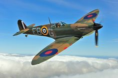 The Spitfire  our very best of British along side our brave men