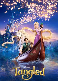 "Walt Disney Animation Studios released this brand new movie poster for the upcoming animated film ""Tangled"" aka Rapunzel by directors Nathan Greno and Film Rapunzel, Rapunzel Disney, Tangled Movie, Tangled 2010, Princess Rapunzel, Tangled Party, Disney Tangled, Disney Worlds, Disney Cartoons"