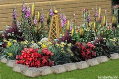 FLOWER BED - GardenPuzzle - online garden planning tool
