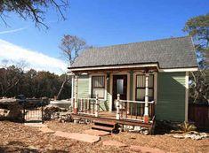 Texas Tiny Houses Canyon Lake front porch