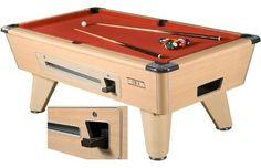 Supreme Winner Pool Table - Beech