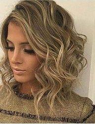 Dark blonde base with fine bright blonde highlights