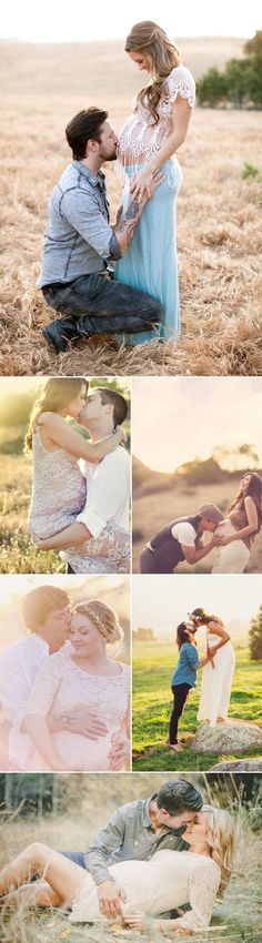 23 Naturally Beautiful Outdoor Maternity Photo Ideas!: