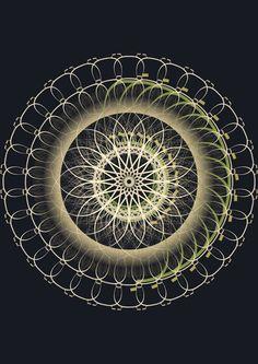 orna. by Cristian Boian, via Behance / Sacred Geometry <3