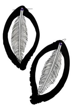 Absalom Khumalo - platinum and buffalo horn earrings The Magnificent Seven, Horns, Buffalo, Plant Leaves, Jewellery, Guys, Earrings, Ear Rings, Horn