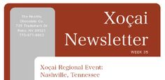 This weeks Newsletter is now available! To download your copy, please visit http://www.healthychocolateco.com/company/news. To login, please enter your distributor ID and password. Stay tuned every week to download your Healthy Chocolate Newsletter to remain connected to the latest updates, promotions, recognition and so much more!