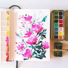 Grafikas » Botanical Watercolors