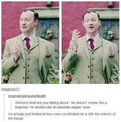 Oh Mycroft...