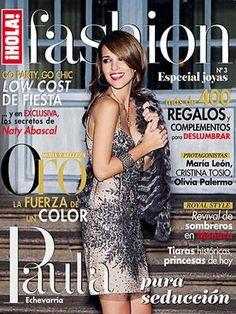 Paula Echevarría - Hola! Fashion Magazine Cover [Mexico] (January 2013)