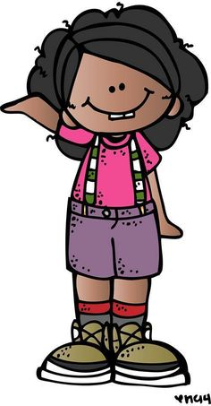 Cook, Tonya - Kindergarten / What is your Kindergartener learning? Girl Clipart, Cute Clipart, Cute Images, Cute Pictures, School Clipart, Clipart Black And White, Cute Cartoon, Little Girls, Kindergarten