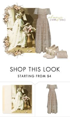 """Vintage spring wedding"" by barebear1965 ❤ liked on Polyvore featuring vintage"