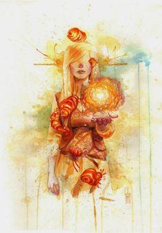As belas pinturas em aquarela de Guillem Marí