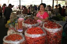 A Chilli Stall holder, Chaing Mai, Thailand; A trip to the local market can be a real feast for the senses! Chaing Mai Thailand, Without Borders, The Locals, Beef, Canning, Places, Food, Meat, Essen