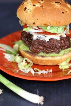 Seven Layer Taco Dip Burger