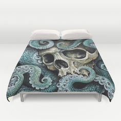 Please+my+love,+don't+die+so+far+from+the+sea...+Duvet+Cover+by+Voss+Fineart+-+$99.00