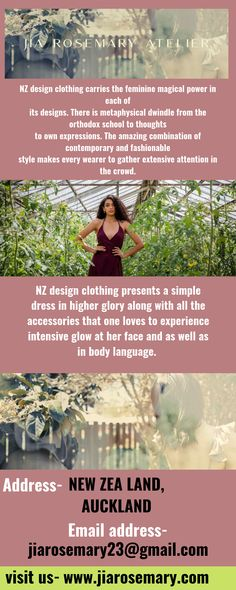 Reliable quality in nz made clothing. Brings many variations in bridal wear, event wear, resort wear.
